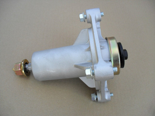 """Deck Spindle for Ariens 42"""", 46"""", 54"""" Cut 21546238, 21546299, 21549012, Includes Mounting Bolts with Grease Zerk"""