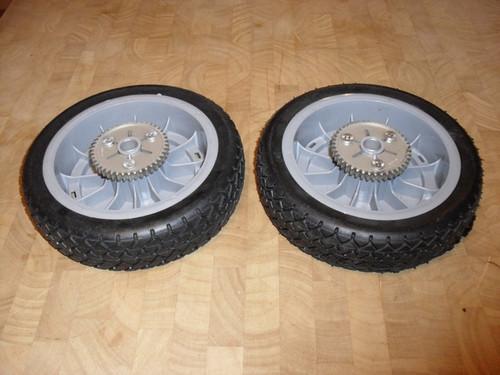 Drive Wheels for Toro Super Recycler Self Propelled mower 987135, 98-7135, set of 2 wheel