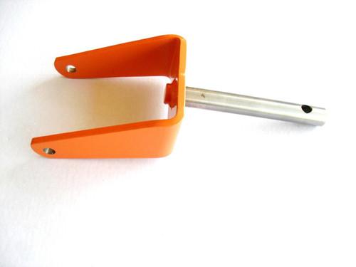 Deck Caster Yoke Wheel Arm Fork for Wright Mfg 93460001