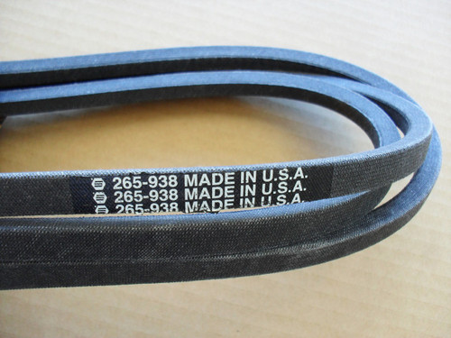 "Deck Belt for Ariens YT19H, 42"" Cut 21547082, 21547188, 21547027, Made In USA"