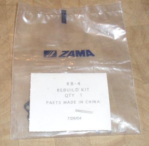 Zama Carburetor Rebuild Kit RB-4, RB4 Homelite 240