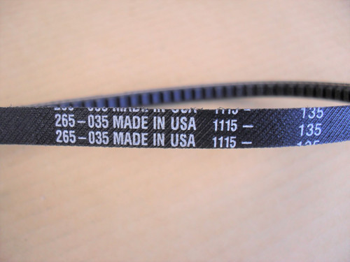 Drive Belt for Diamond SC7312XL, SC7314XL Speedicut Saw, FC7312, FC7314 Fast Cut Saw 6060118, Made In USA