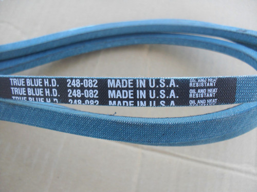 Belt for Allis Chalmers 108209, 1603077, 1606190, 1607812, 2025364, Made in USA, Kevlar cord, Oil and heat resistant