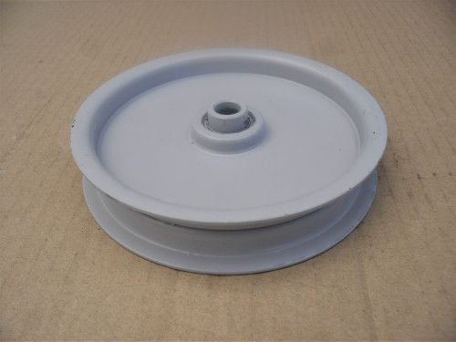 "Idler Pulley for Toro 106144, ID: 3/8"" OD: 4-1/2"" Made In USA"