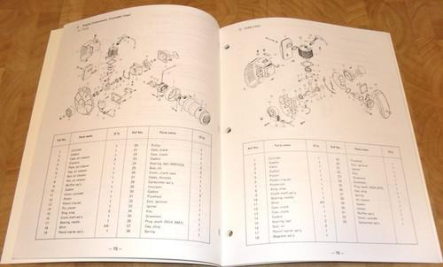 Kawasaki TA22, TA40, TA51 Repair Workshop Manual 999690905, 99969-0905