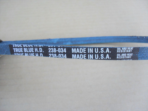 Belt for Gilson 218152, 244104, 7838, Oil and Heat Resistant, Kevlar Cord, Made in USA