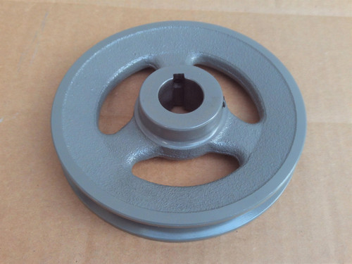 """Deck Pulley for Kees 32"""", 36"""", 48"""" Cut 362095, 976398 ID: 1"""" OD: 5-5/8"""""""