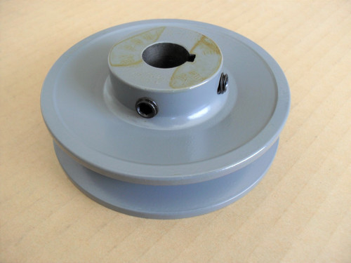 "Deck Spindle Pulley for Bobcat, Ransom 32"", 36"" and 48"" Cut 38018N, 38456"