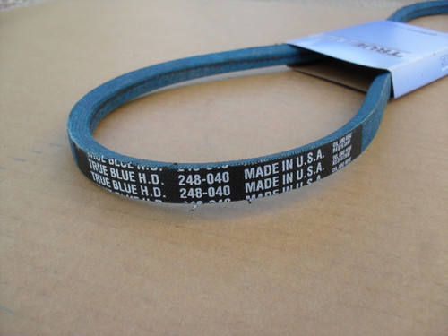 Belt for Snapper 1-0109, 10109, Made In USA, Kevlar cord, Oil and heat resistant