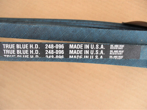 Belt for Castelgarden 35061980/0, 35062001, Made in USA, Kevlar cord, Oil and heat resistant