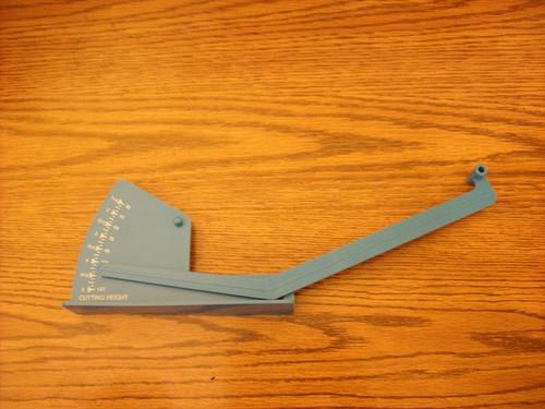 Deck Leveling Gauge for John Deere AM130907 lawn mower