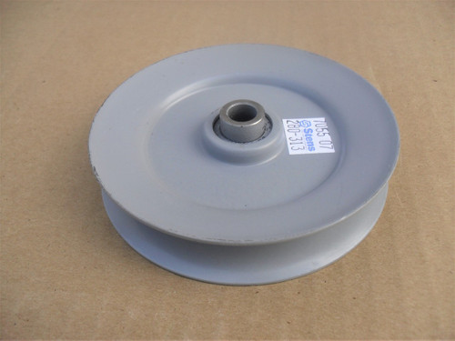 "Idler Pulley for Toro 524580, 7451, 957668, 995678, 52-4580, 95-7668, 99-5678 Height: 7/8"" ID: 3/8"" OD: 4"" Made In USA"