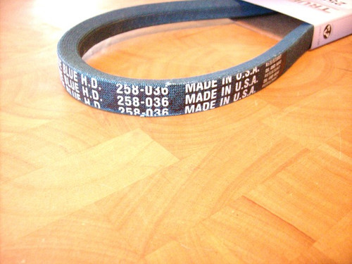 Belt for AYP 62411, Made in USA, Kevlar cord, Oil and heat resistant