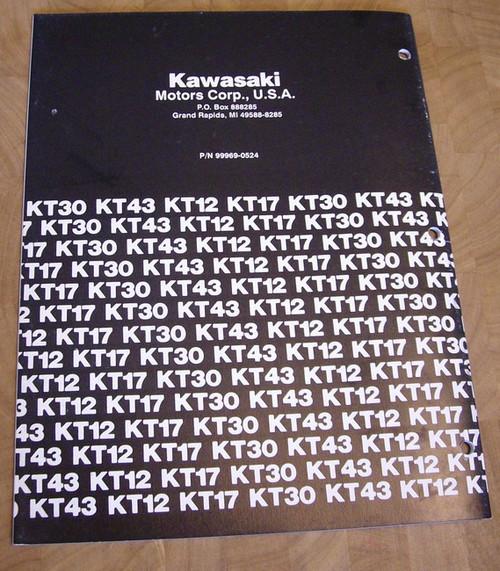 Kawasaki KT28LMS service manual repair manual workshop manual 99969-0524