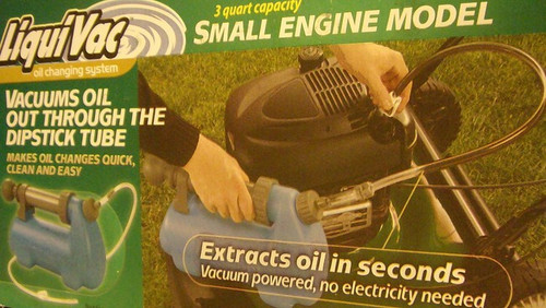 Oil Extractor Vacuum Pump, No Power Needed 051680