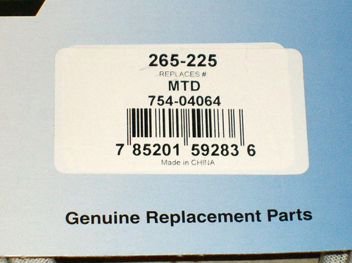 """Deck Drive Belt for Huskee 46"""" Cut 754-04064, 954-04064, PTO"""