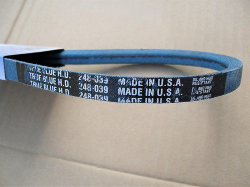 Belt for Steiner 81A038, Made in USA, Kevlar cord, Oil and heat resistant