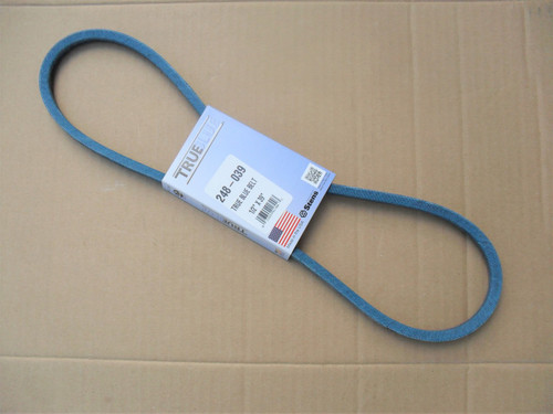 Belt for Allis Chalmers 1665706, 2026268, 2056755, Made in USA, Kevlar cord, Oil and heat resistant