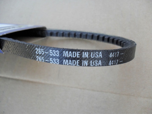 Auger Drive Belt for Toro 3521, 421, 521, 522, 37-9080, 379080 Snowblower, Snowthrower, Snow Blower Thrower, Made In USA