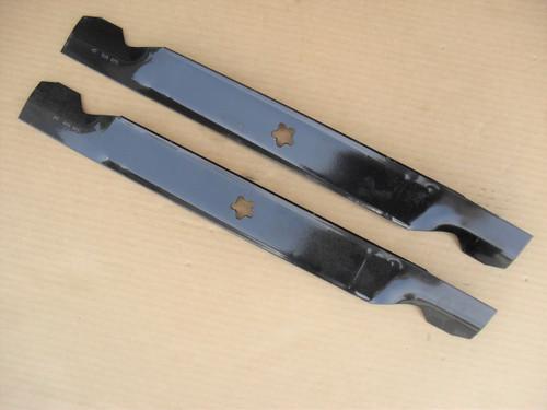 "Blades for Ariens 42"" Cut YT19H, 21546095, Medium Lift, Lawn Mower, Made In USA"
