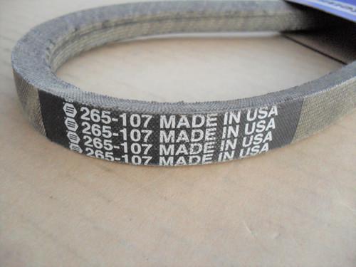 4 Deck Belt fits Troy Bilt Super Tomahawk II Wood Brush Chipper Shredder 97133MA