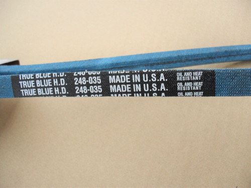 Belt for Kubota 1588197010, 15881-97010, Made In USA, Kevlar Cord, Oil and Heat Resistant
