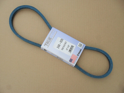 Belt for Allis Chalmers 1110, 121078, 2025309, 2025663, Made In USA, Kevlar Cord, Oil and Heat Resistant