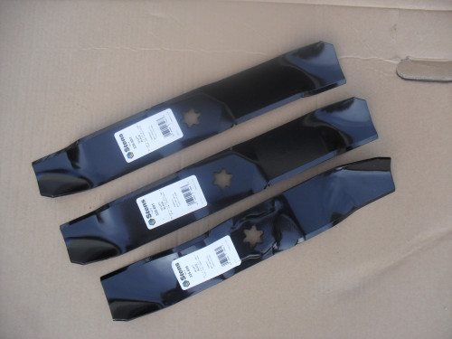 "Hi Lift Blades for Bolens 46"" Cut 742-0612, 942-0612, 942-0612A, 742-0611, 177-2144 Made In USA"