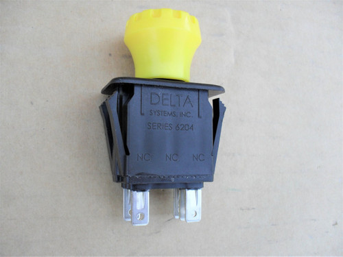 Delta PTO Switch for Lawn Mower 620101, 6201-01, Series 6204, Made In USA, lawnmower Deck Blades On Off