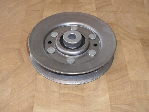 "Idler Pulley for AYP, Craftsman, Poulan, Roper 46"" Cut Deck 146763, 173902, OD: 4-1/4"", ID: 3/8"""