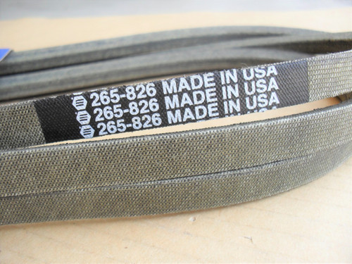 Engine to Deck Belt for Scotts L17.542, GX20072, GY20570, Made In USA