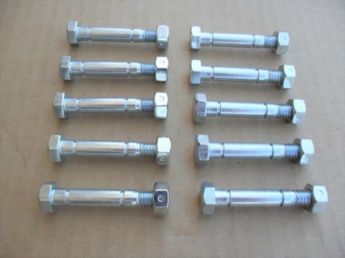 Shear Pins Bolts for John Deere 828D, 924DE, 1032D, 1128DDE, 1128DE, 1332DDE, AM136890, pin, bolt, Snowblower, snowthrower, snow blower thrower