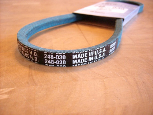 Edger Belt for Craftsman and Mclane 2058, Made In USA, Kevlar cord, Oil and heat resistant