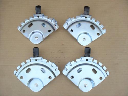Lawn Mower Wheel Height Adjusters Set of 4 Deluxe Adjuster 285361