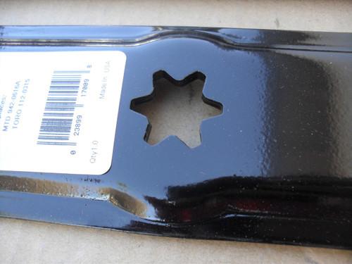 "Mulching Blades for Troy Bilt 42"" Cut, Colt, Bronco, Mustange, Pony, RZT, Range Rider, 490-110-M115, 742-04087, 742-0616, 742-0616A, 742-0616A-0637, 942-04087, 942-0616, 942-0616A, GW-7420616, OEM-742-0616, Made In USA, Mulcher"