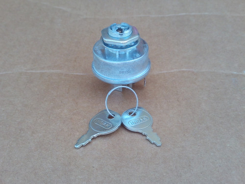 Ignition Starter Switch for MTD 725-1396, 925-1396, 925-1396A, Ryobi, Yard Machine, Ranch King, Wizard, Huskee, Made In USA