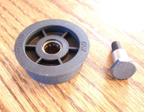 Drive Belt Flat Idler Pulley for MTD 753-0518 Self Propelled Lawn Mower