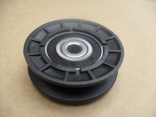 "Drive Idler Pulley for AYP, Craftsman, Poulan, Weedeater 165626, 532165626, ID: 3/8"" OD: 2-1/2"""