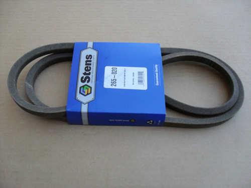 PTO Deck Drive Belt for MTD 754-0486, 754-0486A, 954-0486, 954-0486A, 13A0604G401, 13AG619H022, 13AI607H098, Made In USA
