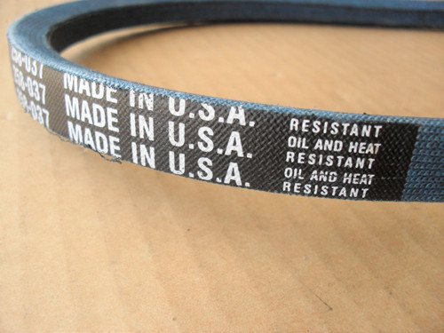 Belt for Bluebird 337, Made in USA, Kevlar Cord, Oil and heat resistant, Blue Bird