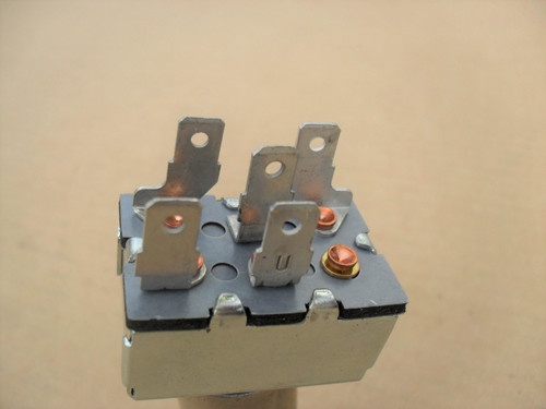 PTO Switch for Woods 70422, 72372 lawn mower, 5 Terminals, Made by Indak
