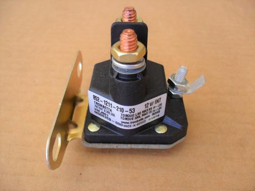 Starter Solenoid for Snapper 18817, 7075671, 7075671YP, 75671 1-8817 Lawn Mower