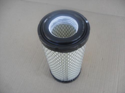 Air Filter for Kubota Z482, Z602, D662, D722, D782, D902, WG752, WG972, DF752, DF972, KTV900, BX1500, BX1800, BX1830, BX1850, BX1860, BX22, BX2200, BX2230, BX23, BX2350, BX2360, BX24, BX25, BX2660, RTV500, 1G65911222, 6A10082630, 6A10082632, K121182320, K258182310, K258182311