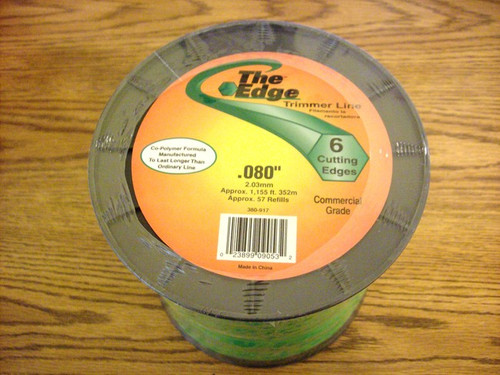 Stihl, Homelite and Kawasaki string trimmer line .080 3lb  spool 99969-1826 / 380-917