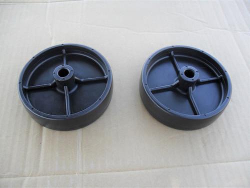 Deck Roller Wheels for Toro GT2100, GT2200, LX420, LX423, LX425, LX426, LX427, LX460, LX465, LX466, LX468, LX500, SL500, 112-0337, 1120337, Wheel Set of 2
