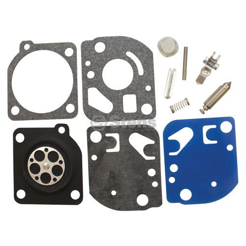 Carburetor Rebuild kit for Echo SRM250, SRM2501S, SRM2510, SRM3000, Zama RB26, RB-26