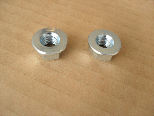 Bar Nuts for Husqvarna 44, 61, 65, 77, 162, 180, 280, 285, 380, 444, 480, 2100, 371K, Rancher 503220001 chainsaw, chain saw, Nut Set of 2