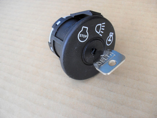 Ignition Starter Switch for MTD 725-1741, 925-1741 Includes Key, Made In USA