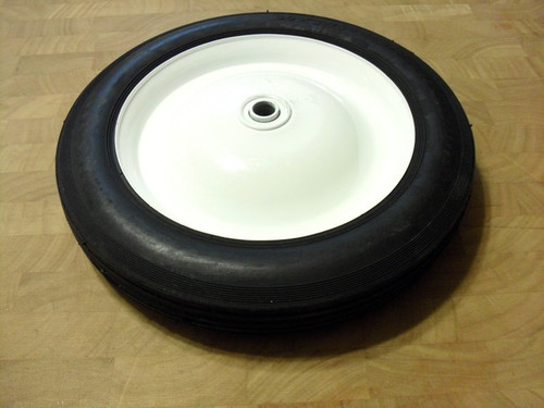 """Universal Metal Roto Tiller Wheel with Bearings 10"""" tall x 1-3/4"""" Wide"""