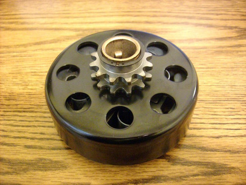 "Hillard clutch for Go kart cart, tamper 12 teeth, 3/4"" bore, up to 13hp rating LD4-S-5L, LD4S5L"